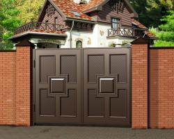 Заказать ворота и калитки для дома в Екатеринбурге