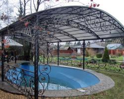 Навесы для бассейнов из поликарбоната